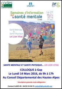 Affiche Santé Mentale 14 Mars 2016 Gap-1